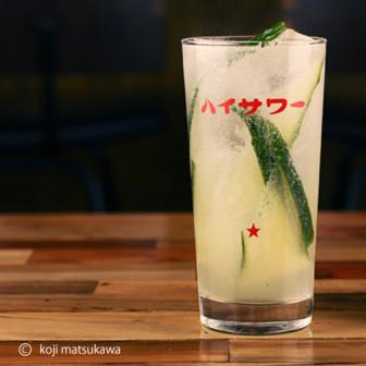 レモン&きゅうり爽やか~【カッパサワー】  ハイサワーレモンでつくる
