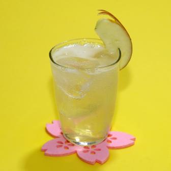 【ハチミツレモンリンゴ酢サワー】(ノンアル)