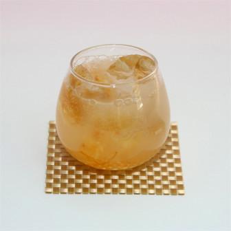 お疲れの時に【ゆず茶タップリレモンソーダー】 (ノンアル)
