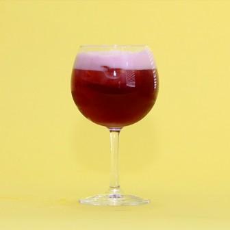 基本レシピ 【ハイサワーハイッピーレモンビアテイスト+赤ワイン】