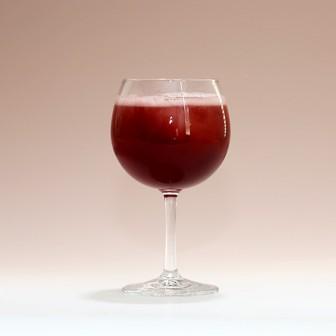 甘酸っぱいカクテル風【うめ香る赤ワイン】 強炭酸でピチピチシュワ~