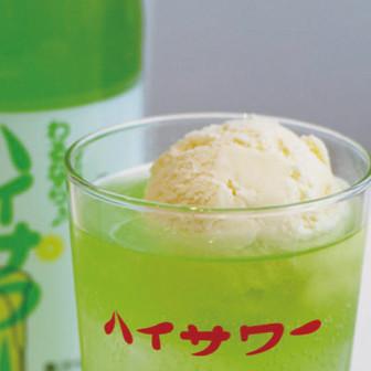 クリームソーダサワー 【ハイサワー青りんご】